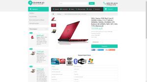 economiya.ru - интернет-магазин ноутбуков и аксессуаров - 2016 г. смена платформы/редизайн