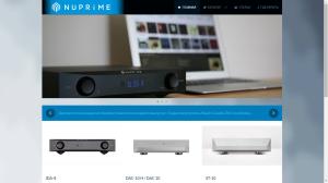 nuprimeaudio.ru - русский сайт бренда NuPrime - 2015 г.